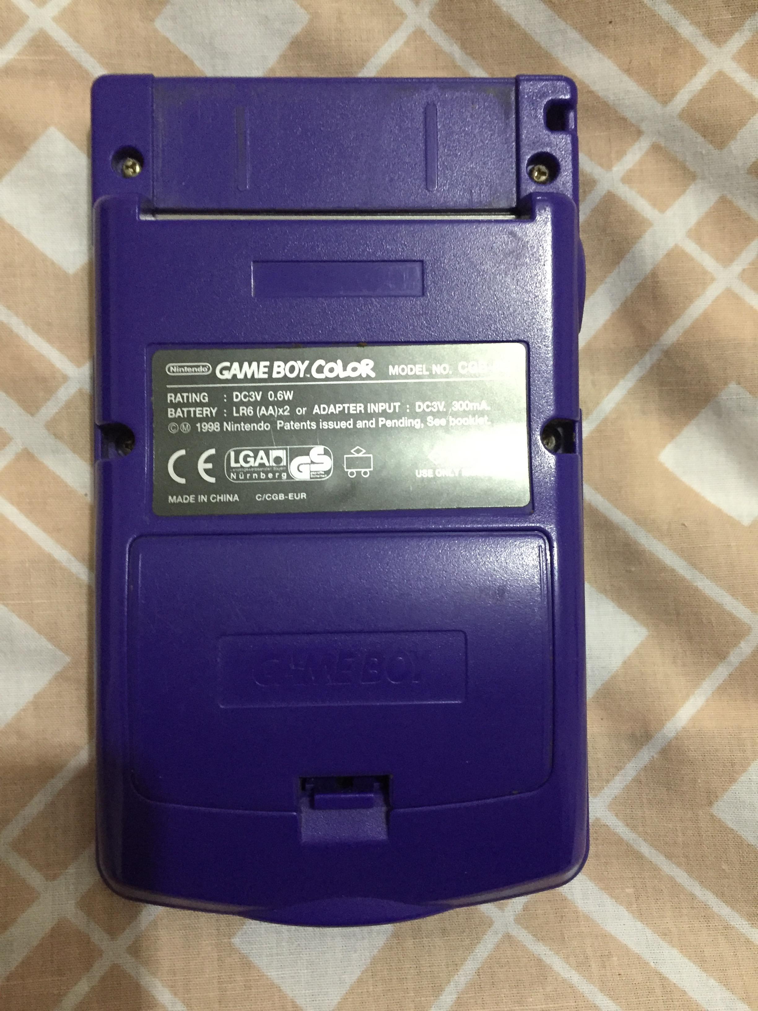 Gameboy color - Gameboy Color