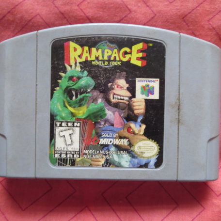 Rampage World Tour(N64)