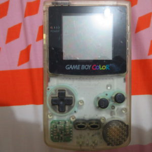 Gameboy Color (Clear Transparent)