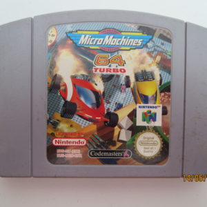 Micro Machines 64: Turbo