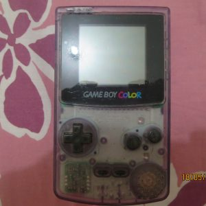 Gameboy Color Atomic Purple Transparent