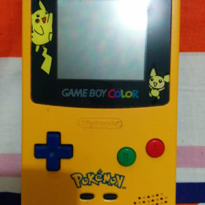 Gameboy Color (Pikachu Edition)