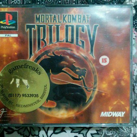 Mortal Kombat Trilogy (front)
