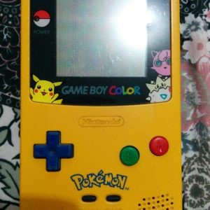 Game Boy Color (Pokemon Yellow Special Edition)