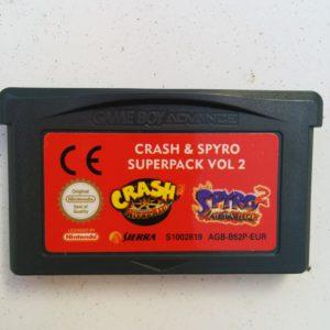 Crash & Spyro SuperPack Vol 2 (Crash Nitro Kart + Spyro 2 Season Flame)
