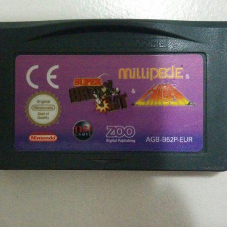 GameBoy Advance – 3 in 1: Super Breakout + Millipede + Lunar Lander