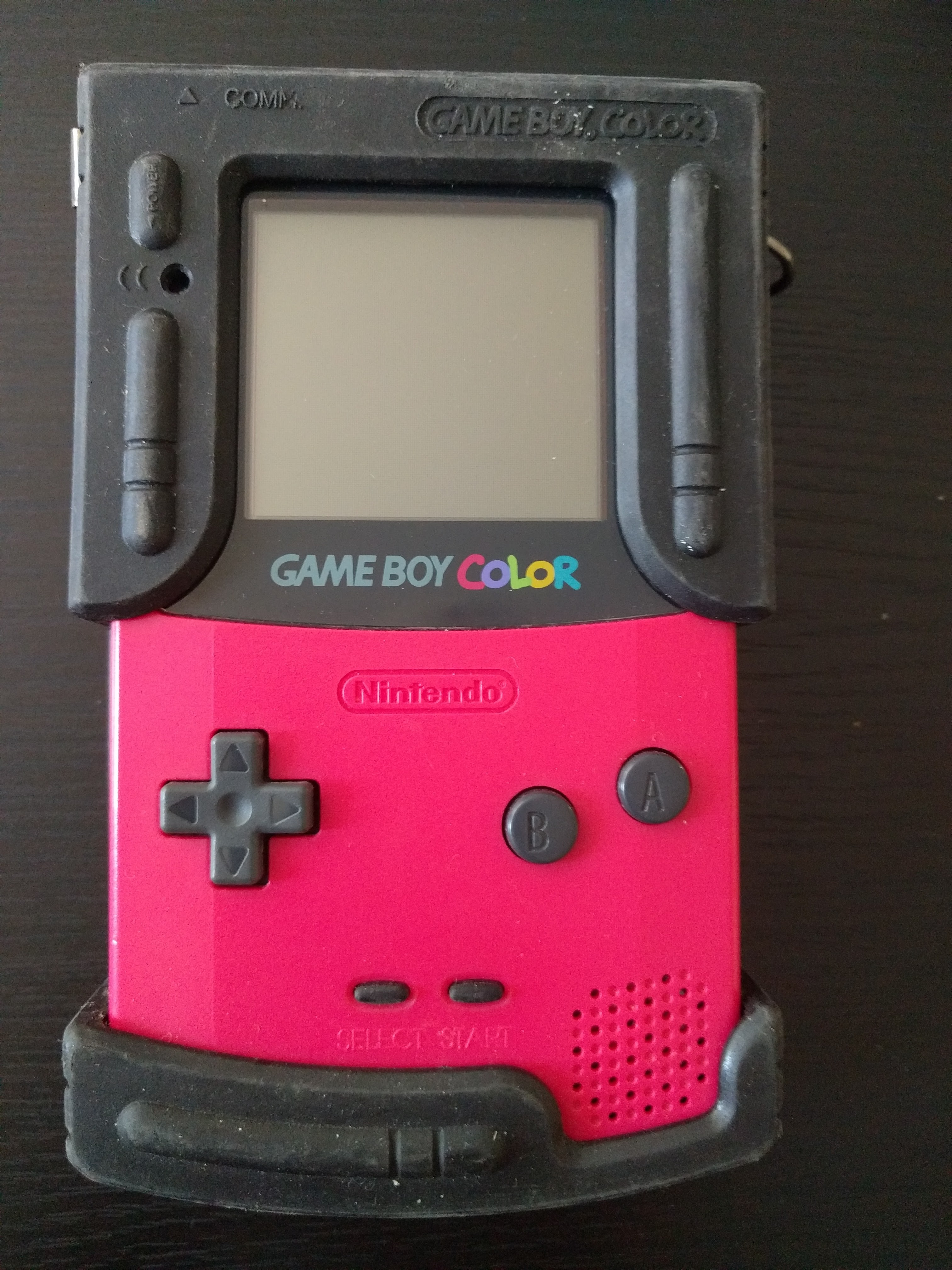 Game boy color - Gameboy Color Berry Front